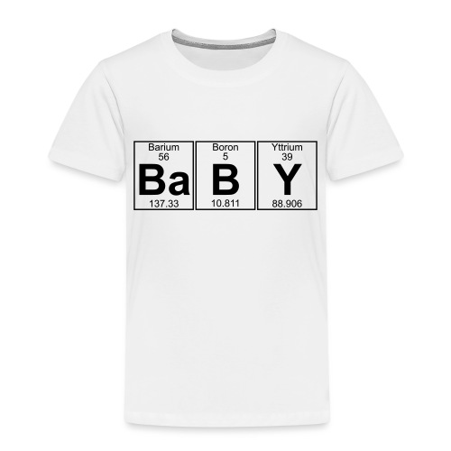 Ba-B-Y (baby) - Full - Kids' Premium T-Shirt
