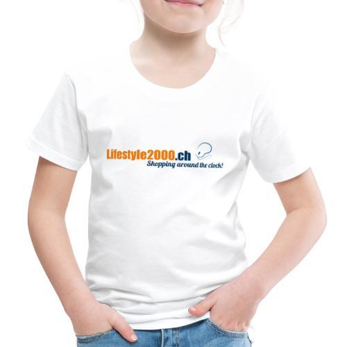 lifestyle 2000 Original Logo - Kinder Premium T-Shirt