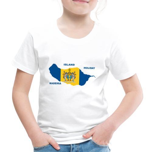 Madeira Insel Urlaub Portugal - Kinder Premium T-Shirt