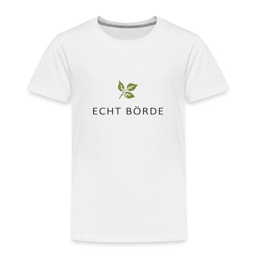 Echt Börde Logo - Kinder Premium T-Shirt