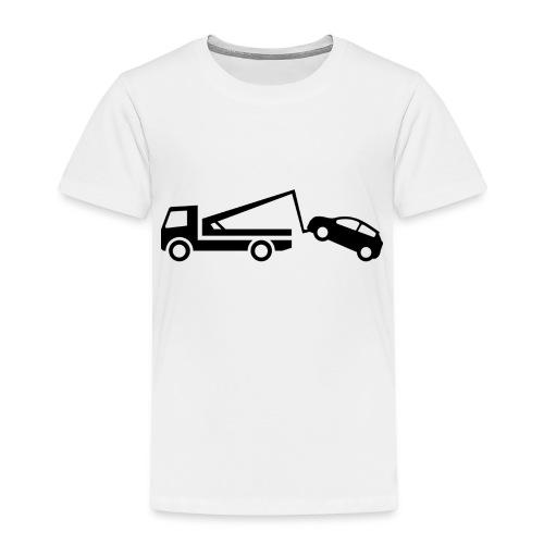 Parken verboten Tshirts Abschleppen - Kinder Premium T-Shirt