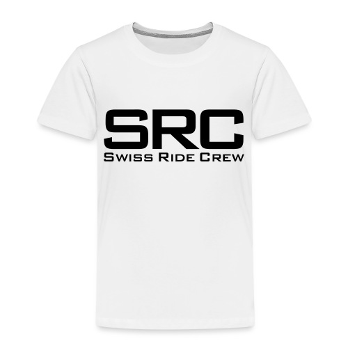 SRC Snapback Schwarz - Kinder Premium T-Shirt