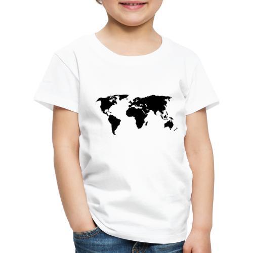 ONE WORLD - Premium-T-shirt barn