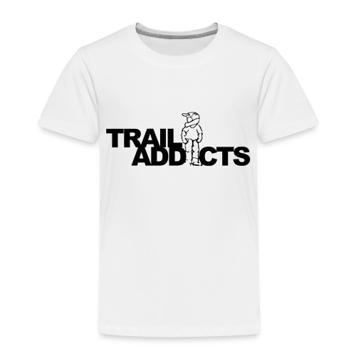 Trail addicts logo tshirt png - Kinderen Premium T-shirt
