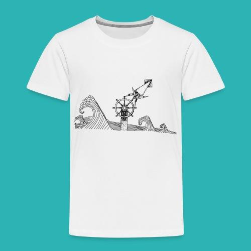 Carta_timone-png - Maglietta Premium per bambini