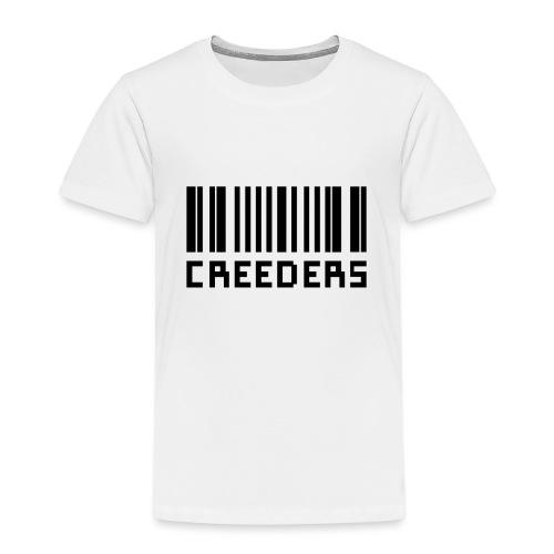 Creeders code barre - T-shirt Premium Enfant