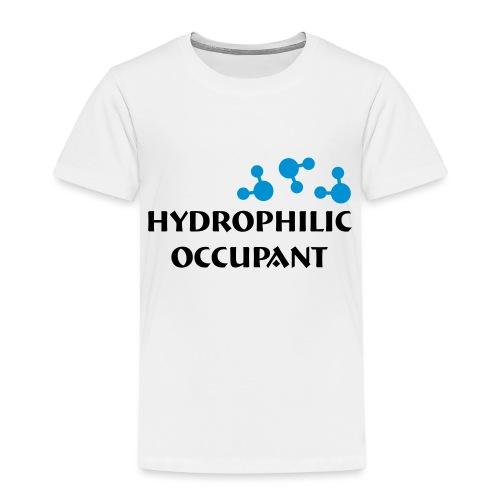 Hydrophilic Occupant (2 colour vector graphic) - Kids' Premium T-Shirt