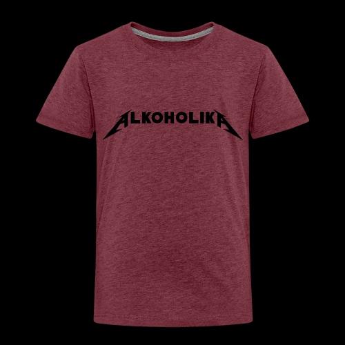 Alkoholika Official - Kinder Premium T-Shirt