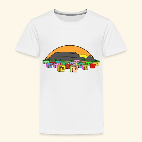 Cape Town Township Background - Kinder Premium T-Shirt