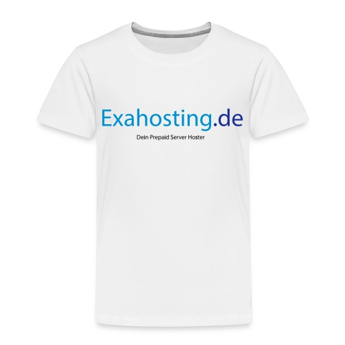 Exahosting Front - Kinder Premium T-Shirt