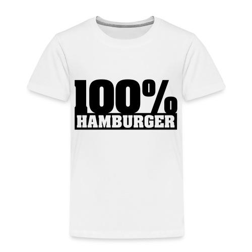 100% Hamburger Typo 2 - Kinder Premium T-Shirt