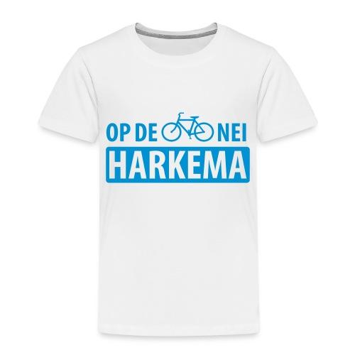 Op de fiets nei Harkema t-shirt vrouwen - Kinderen Premium T-shirt