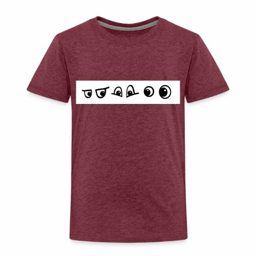 graffiti caracter augen - Kinder Premium T-Shirt