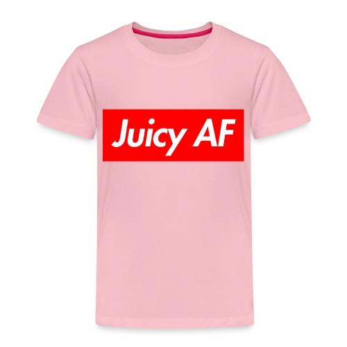 Juicy AF Front - Kinder Premium T-Shirt