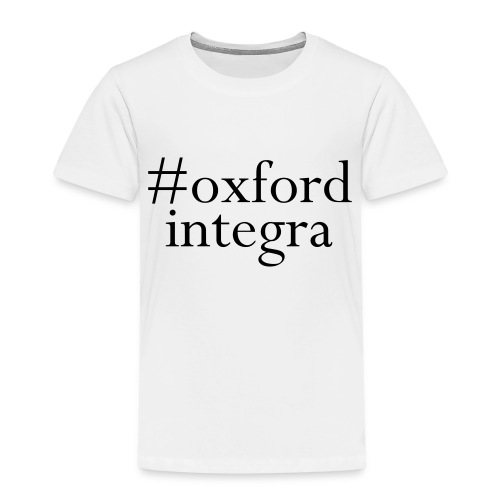 #oxfordintega centred - Kids' Premium T-Shirt