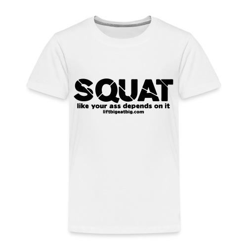squat - Kids' Premium T-Shirt