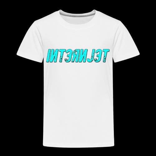 Internjet cyan - Lasten premium t-paita