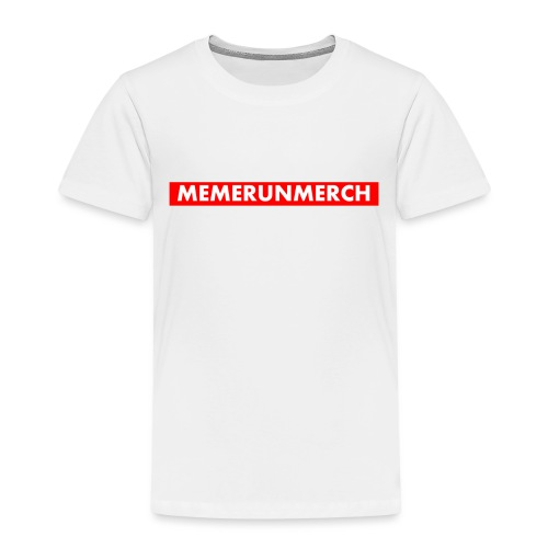 memrunmerch logo - Kids' Premium T-Shirt