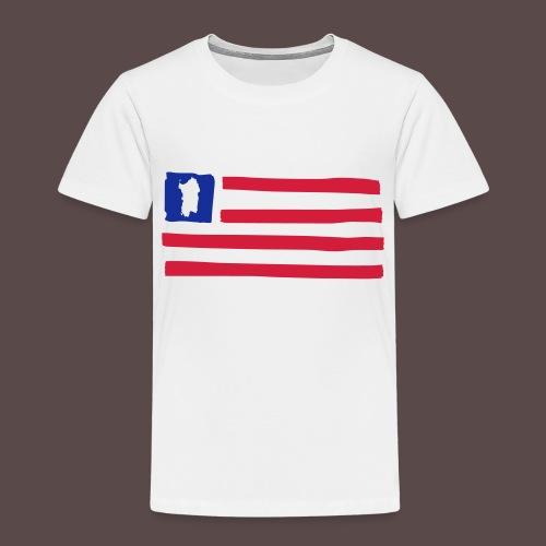 United States of Sardinia - orizzontale - Maglietta Premium per bambini