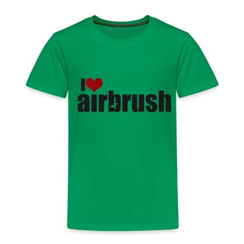 I Love airbrush - Kinder Premium T-Shirt