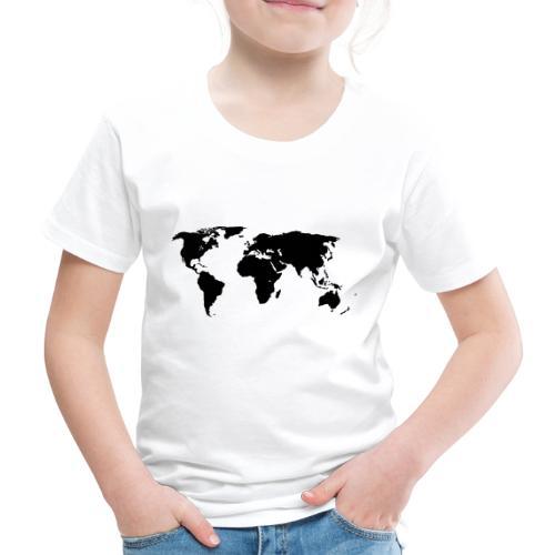 World Outline - Kids' Premium T-Shirt