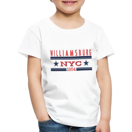 Williamsburg Hipster - Kinder Premium T-Shirt