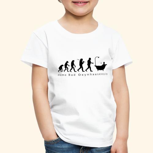 Die Evolution des Bademeisters - Kinder Premium T-Shirt