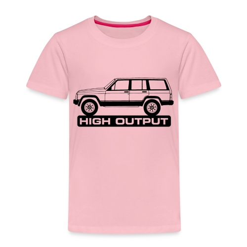 Jeep XJ High Output - Autonaut.com - Kids' Premium T-Shirt