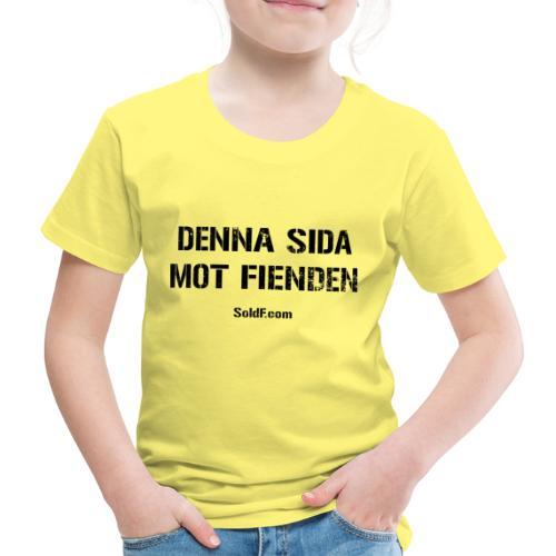 DENNA SIDA MOT FIENDEN (Rugged) - Premium-T-shirt barn