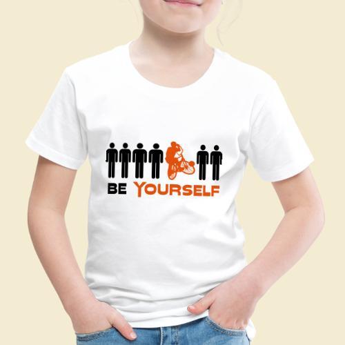 Radball | Be Yourself - Kinder Premium T-Shirt