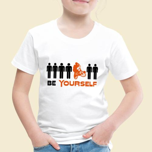 Radball   Be Yourself - Kinder Premium T-Shirt