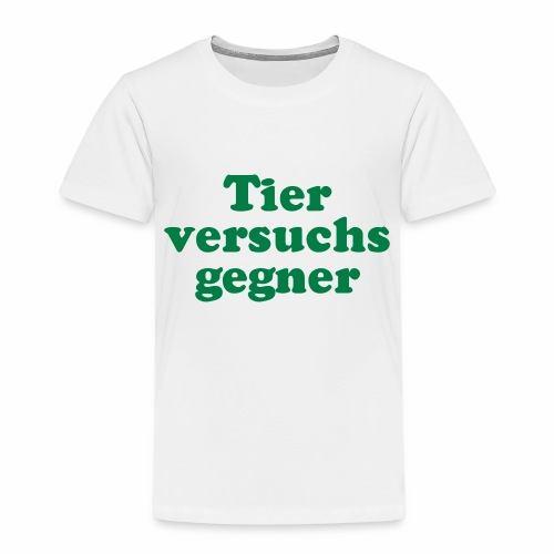 Tierversuchsgegner - Kinder Premium T-Shirt