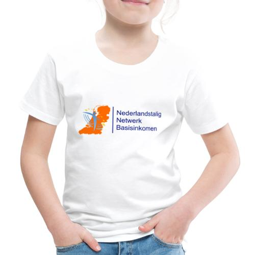 nederlandstalig netwerk basisinkomen - Kinderen Premium T-shirt
