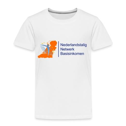 nederlandstalignetwerkbasisinkomen - Kinderen Premium T-shirt