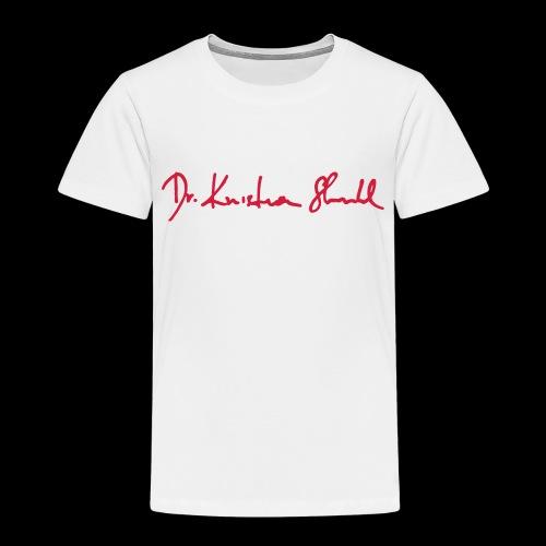 stuhl signatur - Kinder Premium T-Shirt