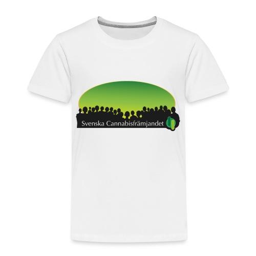 Svenska Cannabisfrämjandet - Premium-T-shirt barn