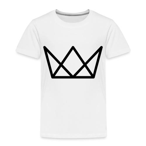 TKG Krone schwarz CMYK - Kinder Premium T-Shirt