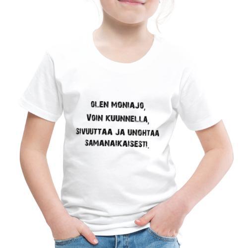 Multitasking - Kinderen Premium T-shirt