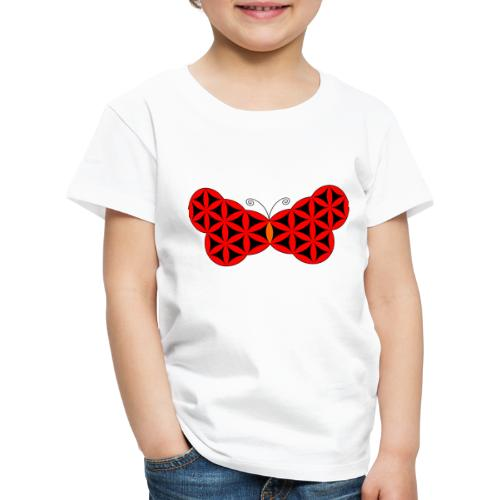 The Butterfly Of Life - Sacred Animals. - Kids' Premium T-Shirt