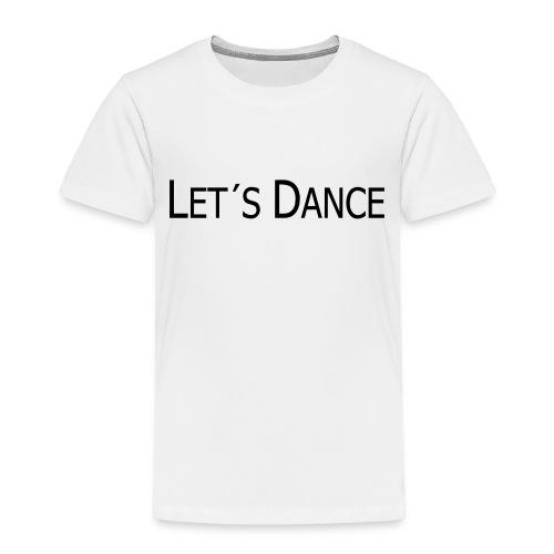 lets dance logo neu schrift 10cm - Kinder Premium T-Shirt