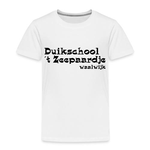 tekst onder elkaar - Kinderen Premium T-shirt