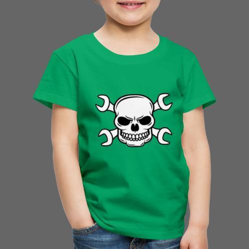 MEKKER SKULL - Børne premium T-shirt