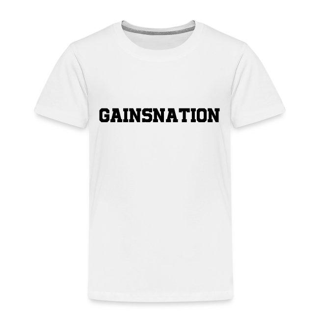 Kortärmad tröja Gainsnation