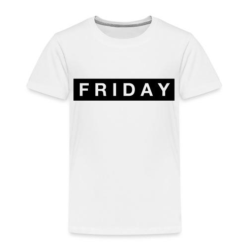 Friday - Premium-T-shirt barn