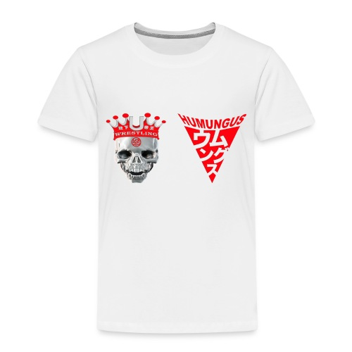 skull krone humungus3 png - Kinder Premium T-Shirt