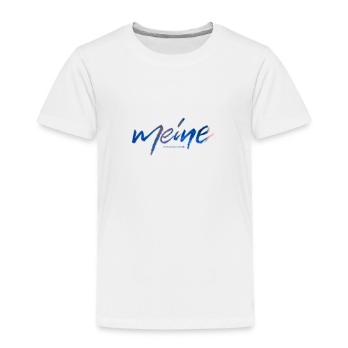 Meine Logo Blau - Kinder Premium T-Shirt