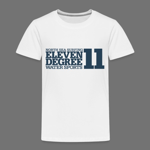 Surfing - eleven degree watersports (gray blue) - Kids' Premium T-Shirt