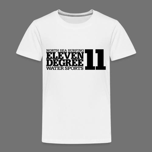 Surfing - eleven degree watersports (black) - Kids' Premium T-Shirt
