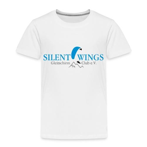 Silent Wings Logo 3 farbig - Kinder Premium T-Shirt