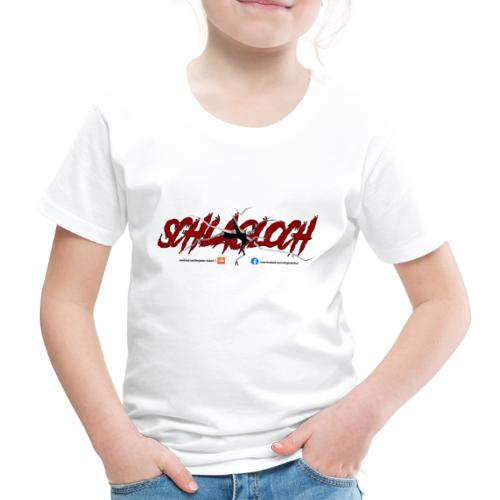 Schlagloch Logo Transperent - Kinder Premium T-Shirt